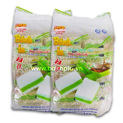 Bánh in đậu xanh lá dứa túi 10 bánh