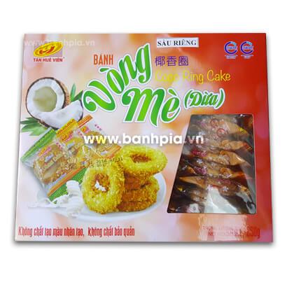 Bánh vòng mè dừa