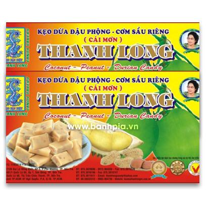 Keọ dừa đậu phộng sầu riêng