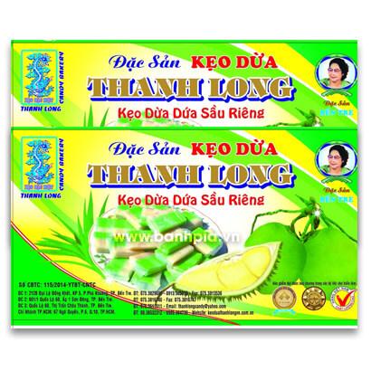 Keọ dừa dứa sầu riêng