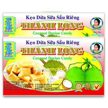 Keọ dừa sữa sầu riêng