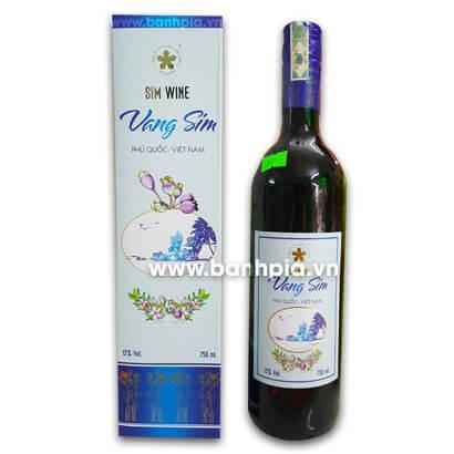 Rượu vang sim xanh (vang ngọt)