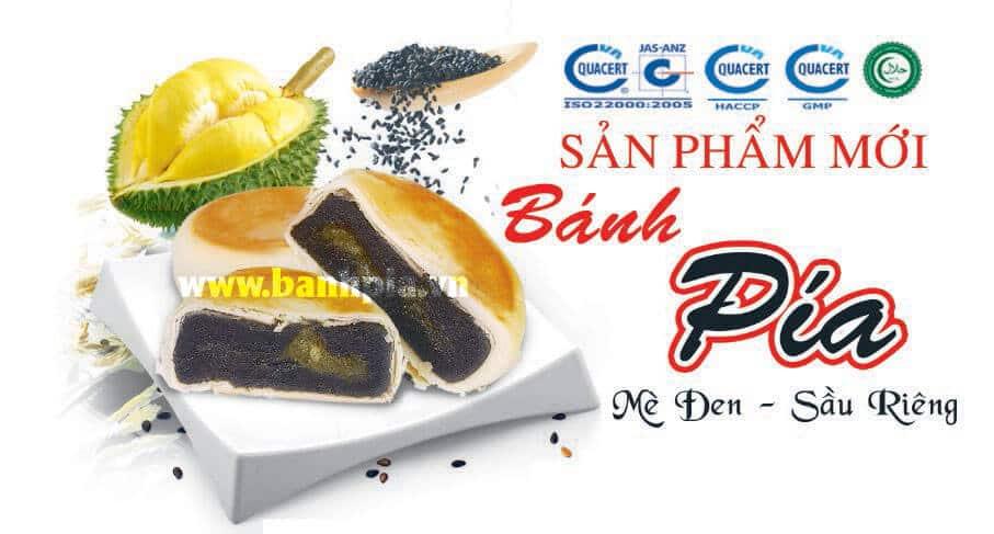 Bánh Pía Mè Đen Chay