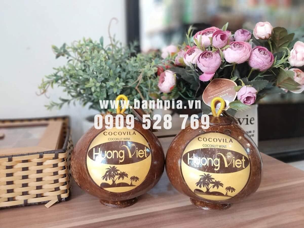 Mẫu rượu dừa bến tre 2019