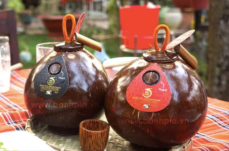 Rượu dừa bến tre miền tây