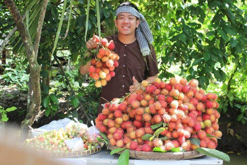 Vườn ăn trái Cái Mơn