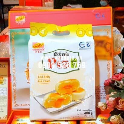 Bánh Pía Kim Sa đậu xanh trứng 500g