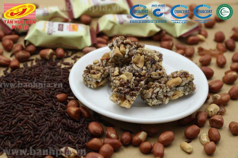 Kẹo gạo lức đậu phộng