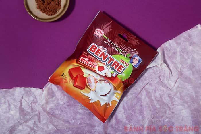 Kẹo dừa cacao - Hai Tỏ