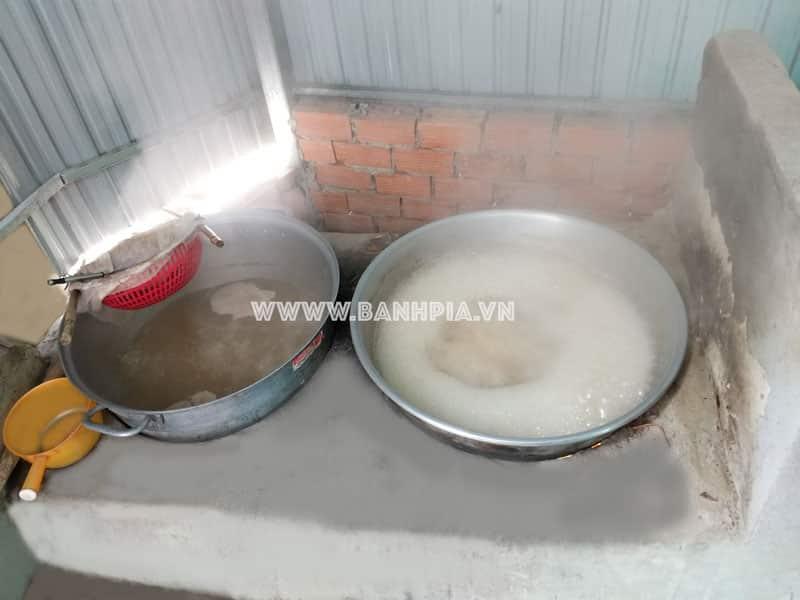 Lò nấu đường thốt nốt