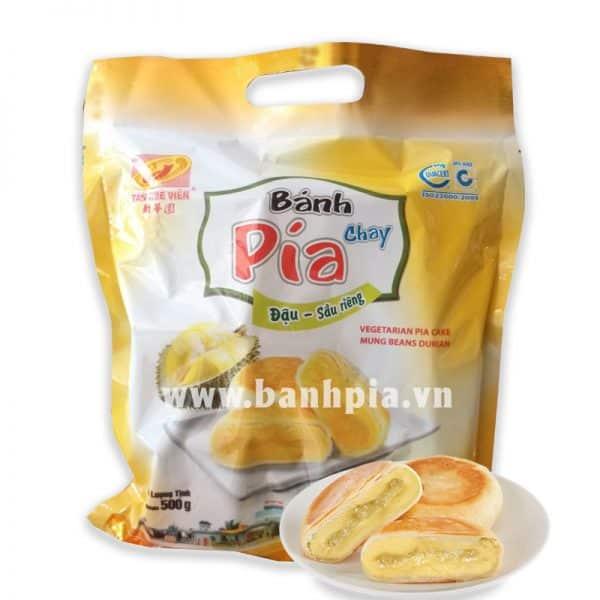 Bánh Pía chay sầu riêng mini túi 500g