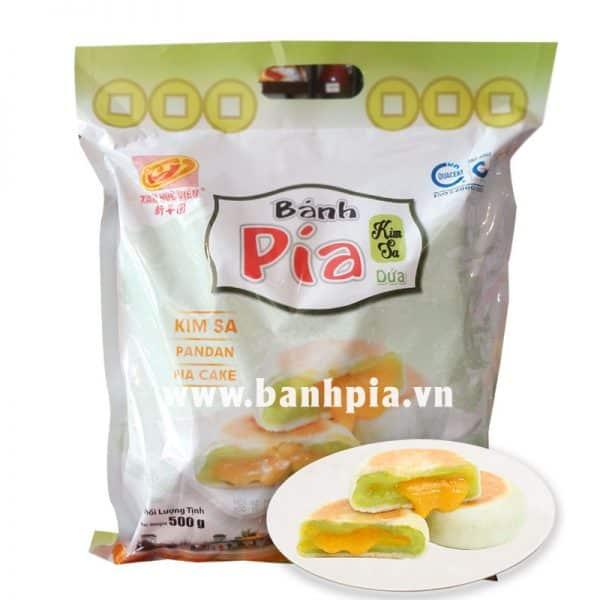 Bánh Pía Kim Sa dứa trứng túi 500g