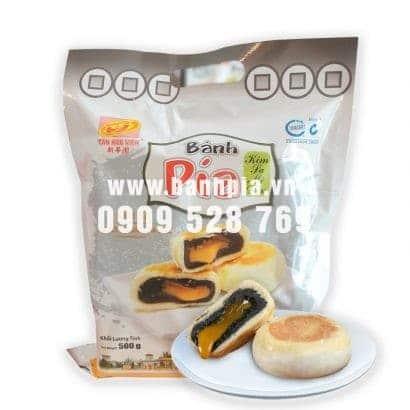 Bánh Pía Kim Sa mè đen trứng 1Kg