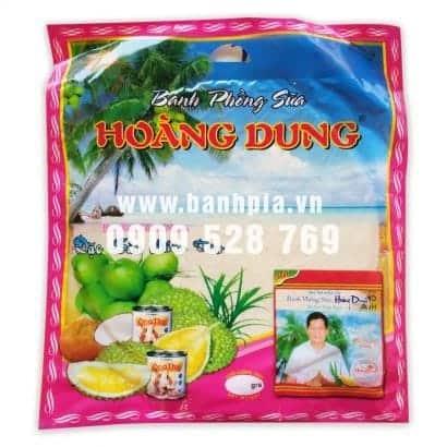 Bánh phồng sữa sầu riêng Hoàng Dung