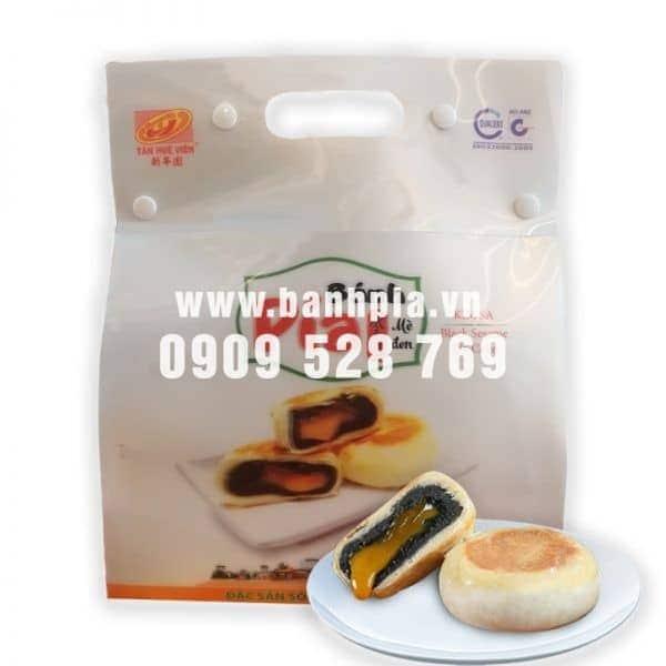 Bánh Pía Kim Sa mè đen túi 3D