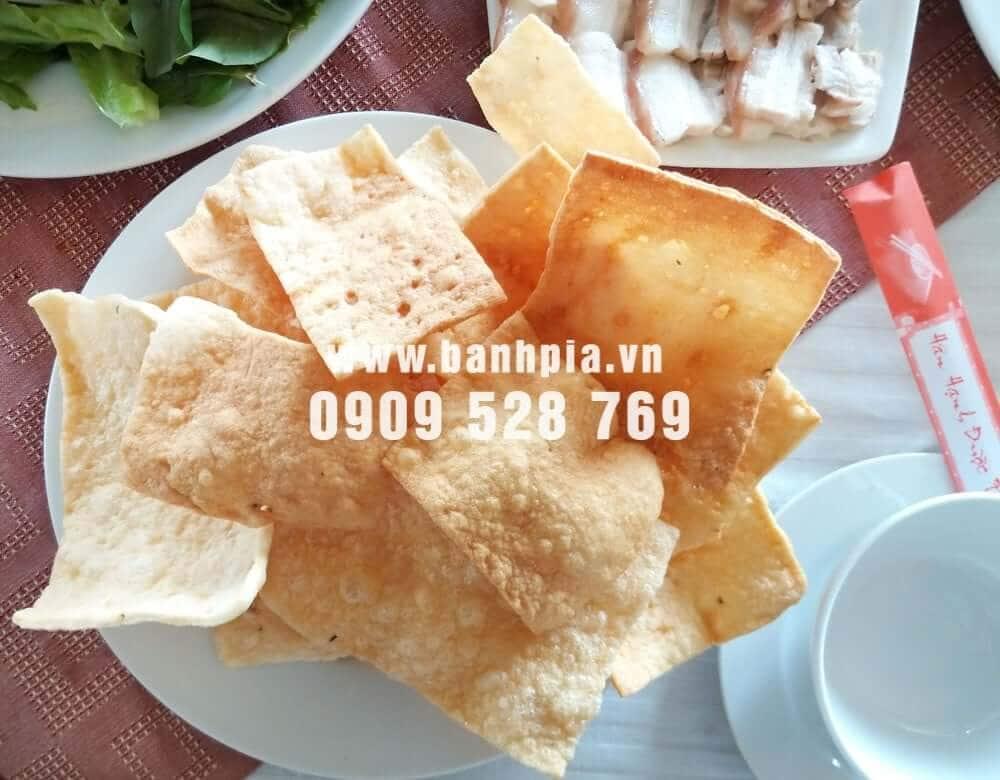 Bánh phồng tôm Sóc Trăng > 65% làm từ tôm