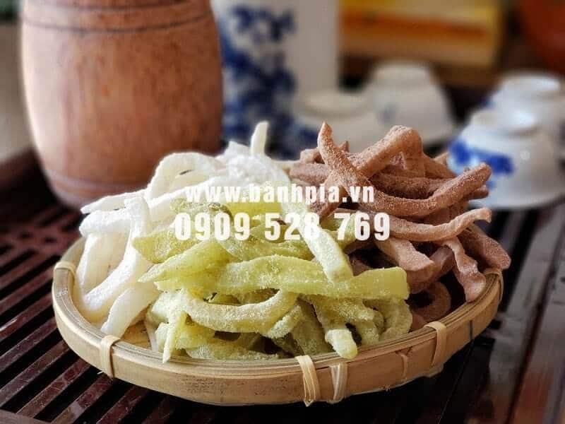 Mứt dừa non Hương Việt có hương vị thơm ngon
