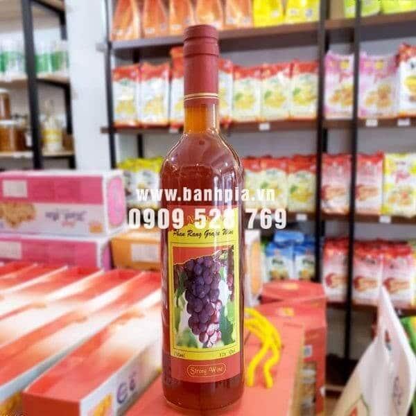 Rượu Vang nho Phan Rang