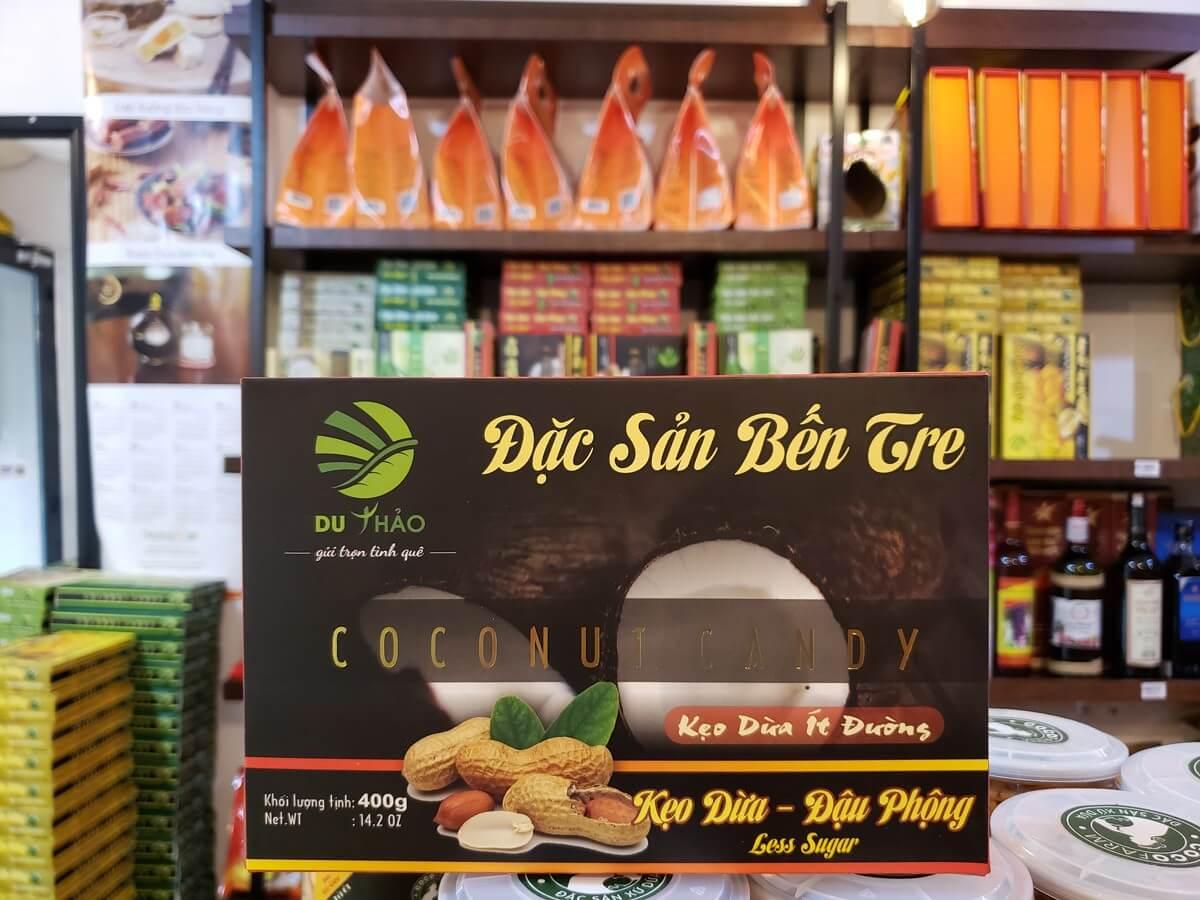 Kẹo dừa đậu phộng Bến Tre cao cấp 400g