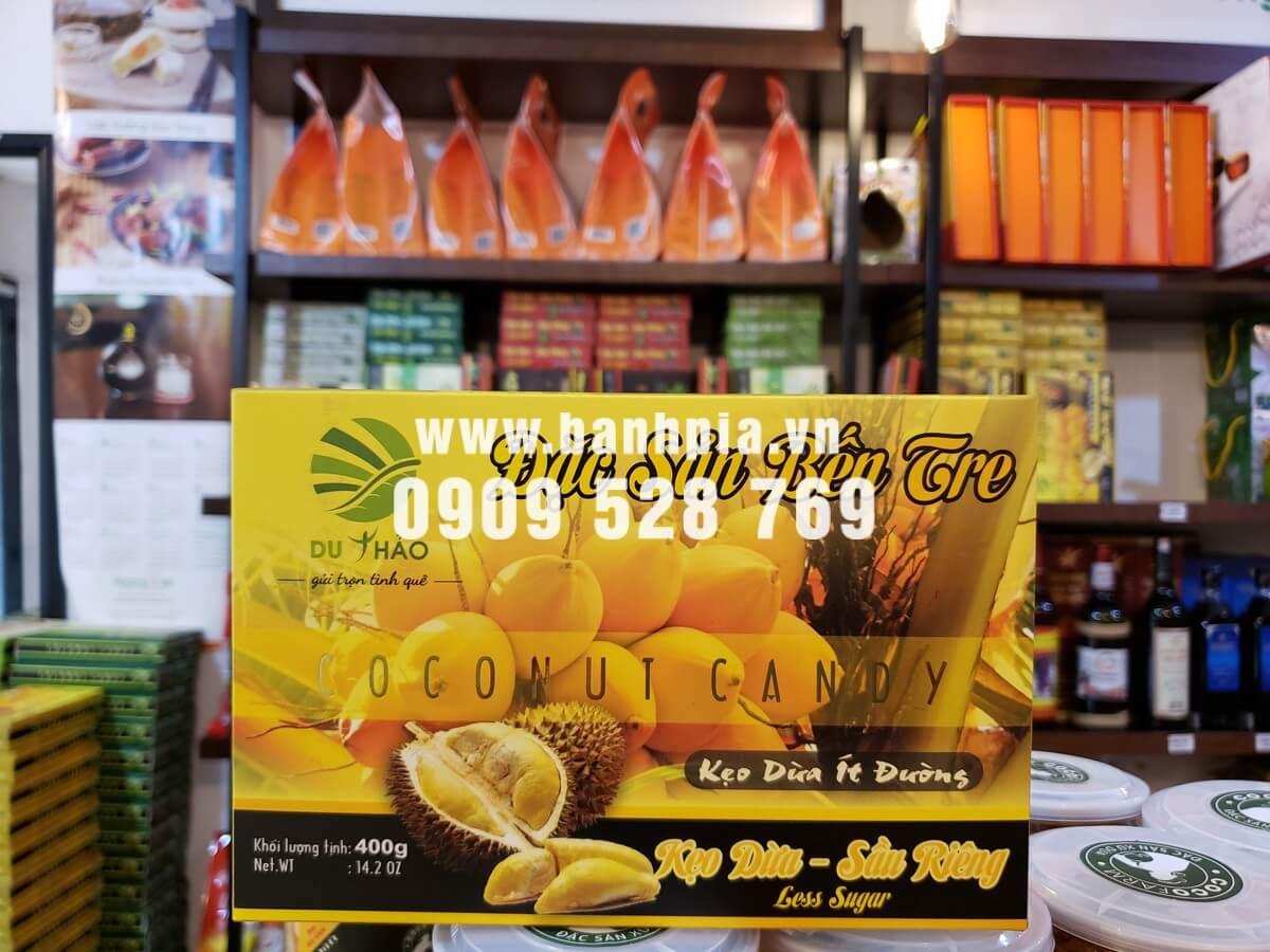 Kẹo dừa sầu riêng Bến Tre cao cấp 400g