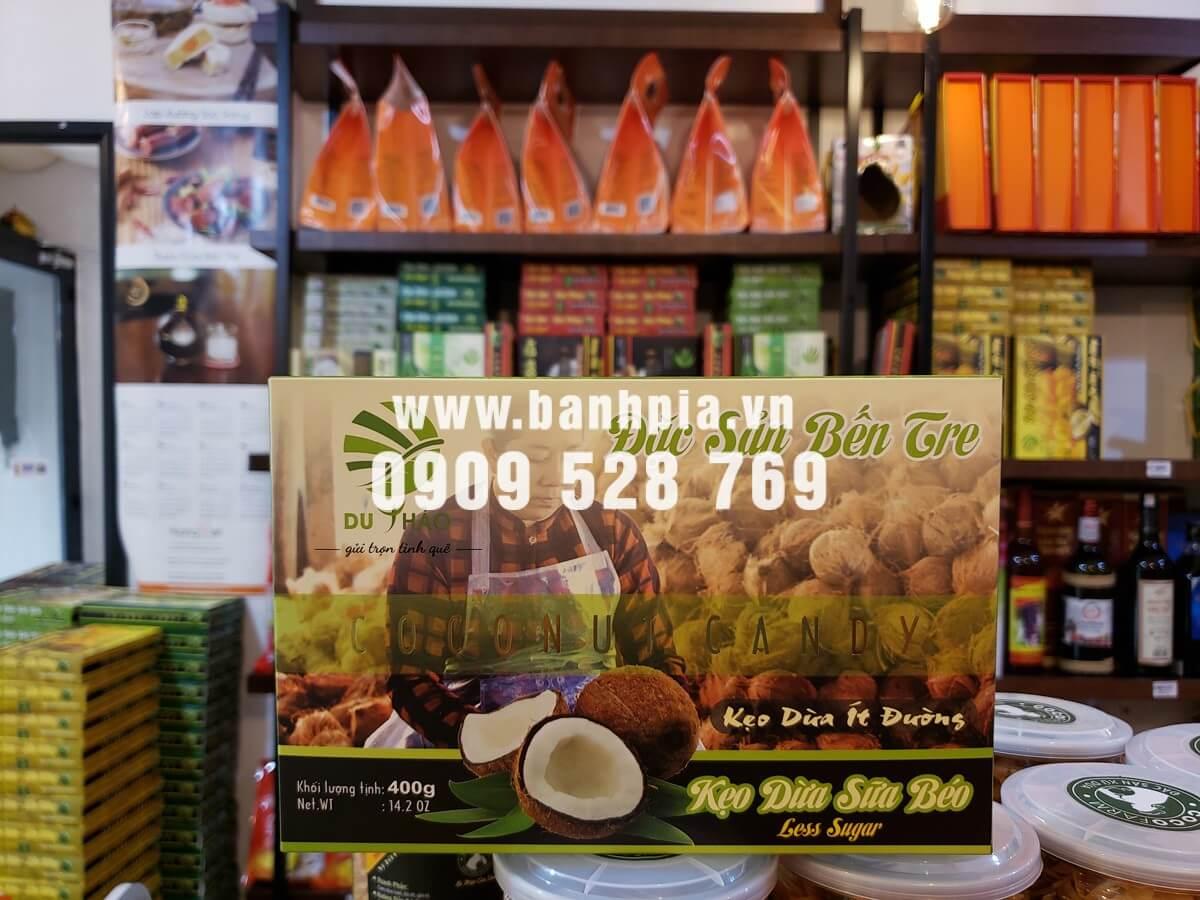 Kẹo dừa sữa béo Bến Tre cao cấp 400g