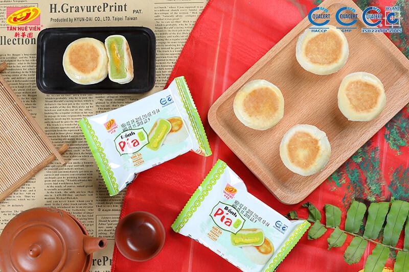 Kim sa Pia cake - Pia cake without durian