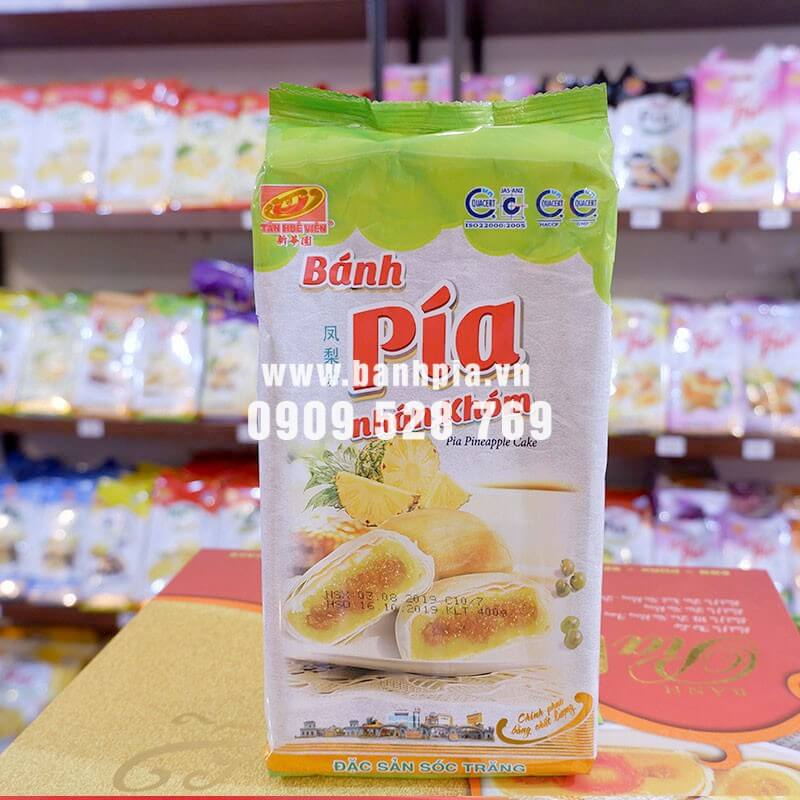 Pineapple pia cake - Pia cake without durian