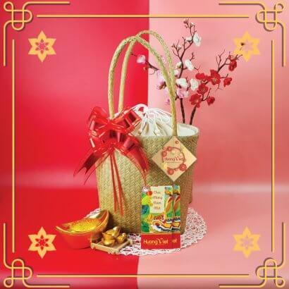 Giỏ quà tết đặc sản Quê Hương