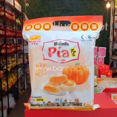Bánh Pía Kim Sa bí đỏ tan chảy ( bánh chay )