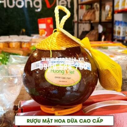 Rượu dừa Bến Tre mật hoa dừa truyền thống 24 độ