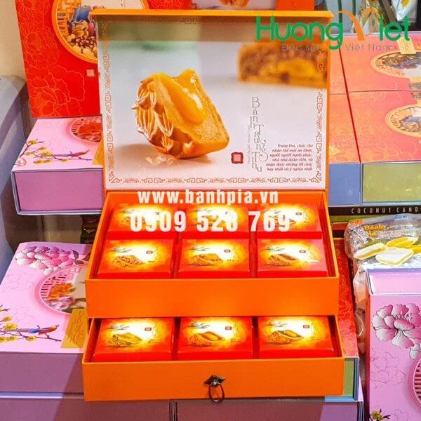 Hộp bánh trung thu thượng hạng Trường Thọ 12 bánh Tân Huê Viên