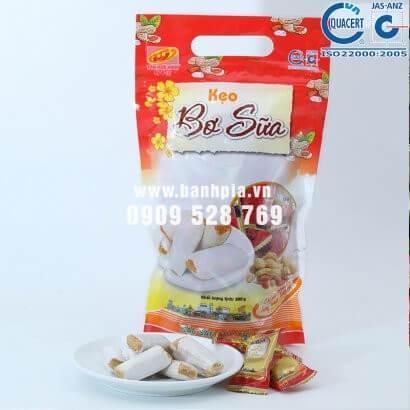 Kẹo bơ sữa đậu phộng - Kẹo dồi Tân Huê Viên 380g