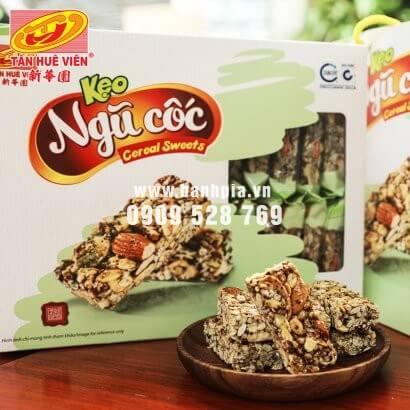 Kẹo ngũ cốc Tân Huê Viên 390g