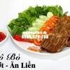 Khô bò sả ớt ăn liền Tân Huê Viên