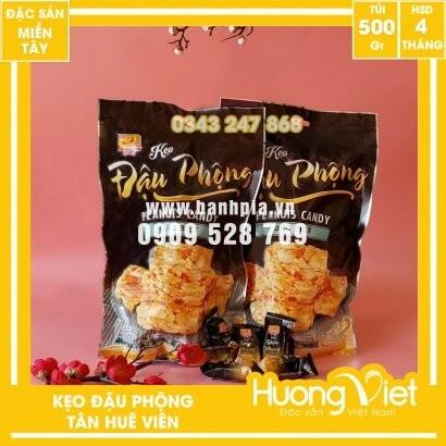 Kẹo đậu phộng đặc biệt Tân Huê Viên 400gr