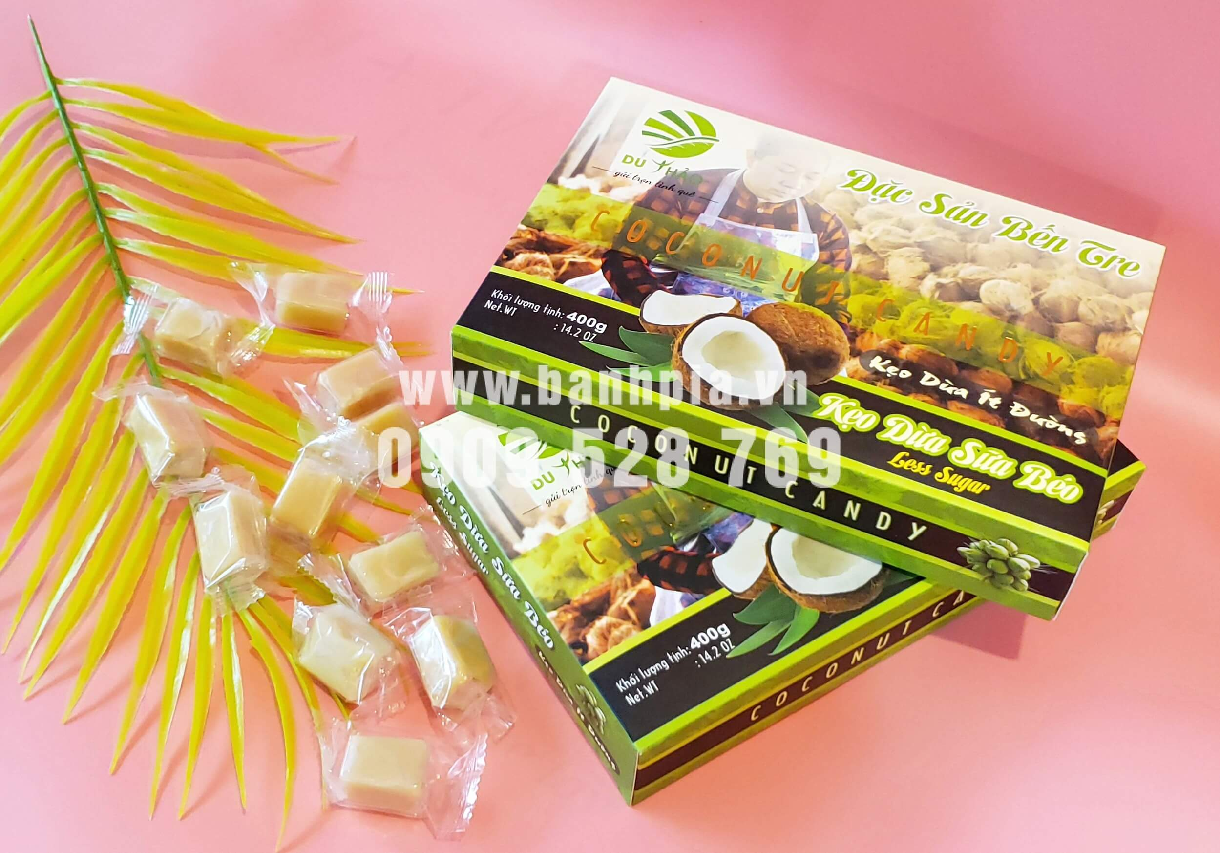 Kẹo dừa Bến Tre ăn có béo không?