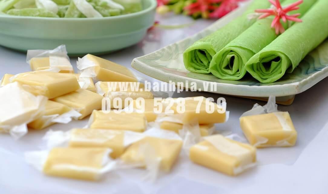 Kẹo dừa Bến Tre đặc sản miền Tây