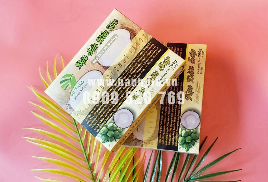 Kẹo dừa Du Thảo